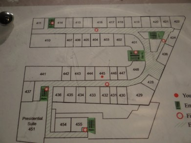 Sheraton Park Lane Hotel London Room Floor Map