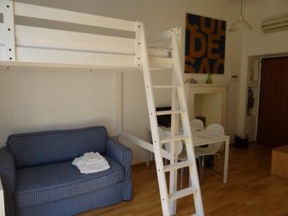 Milan Studio in Navigli bunk bed