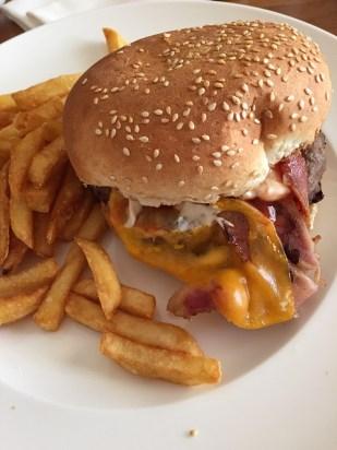 Kempinski Gozo room service burger malta