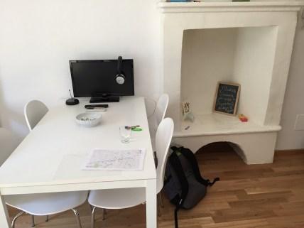 Milan Studio in Navigli Work Area