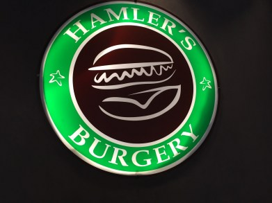 Burgers in Paris at Hamler's Burgery