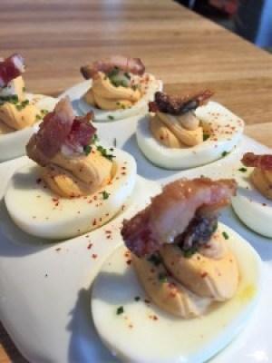 Urban Farmer Philadelphia Deviled Eggs Appetizer