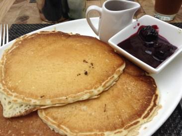 Pancakes in Portland at Urban Farmer