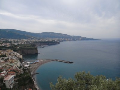 See Sorrento from above Amalfi Coast view
