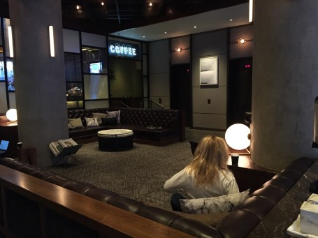 The Eventi Hotel lobby