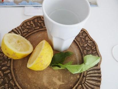 Italian Lemon water