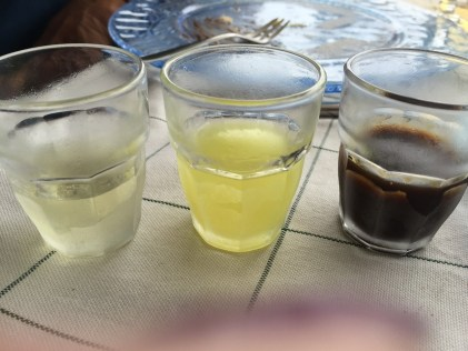 Sorrento Alcohol Trio
