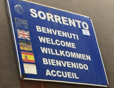 Sorrento Ferry Dock Welcome