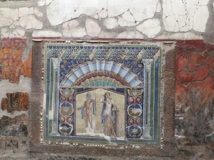 Herculaneum fresco art