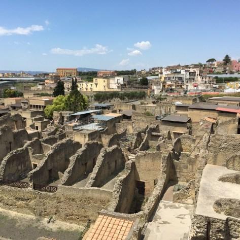 Herculaneum View UNESCO site