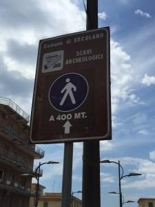 Herculaneum Walk from Ercolano Train Station