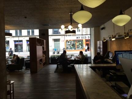 Hoxton Holborn lobby