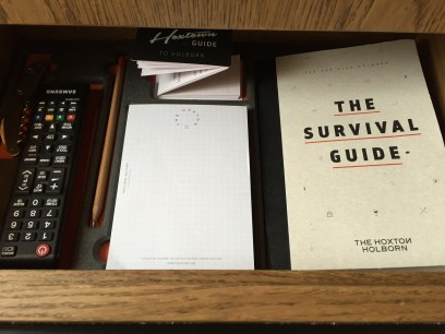 Hoxton Holborn Hotel Survival Guidebook