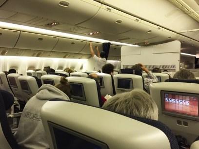 World Traveller Plus Cabin British Airways