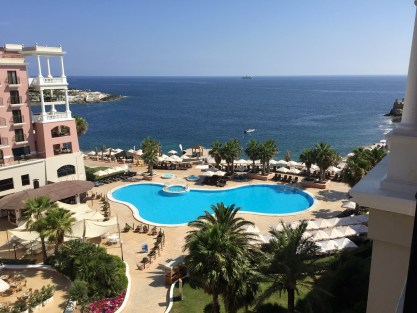 Westin Malta sea view