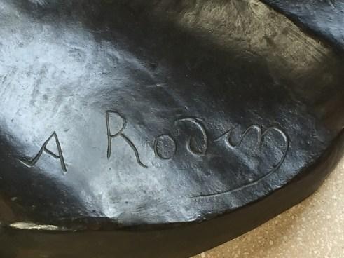 Auguste Rodin signature Rodin Museum Philadelphia