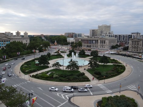 The Logan Hotel boutique Philadelphia view of Logan's Circle