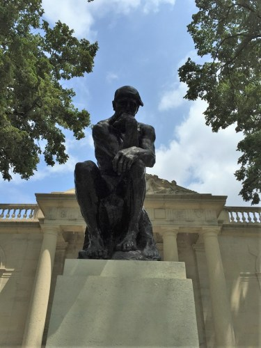 """The Thinker"" by Rodin Museum Philadelphia"