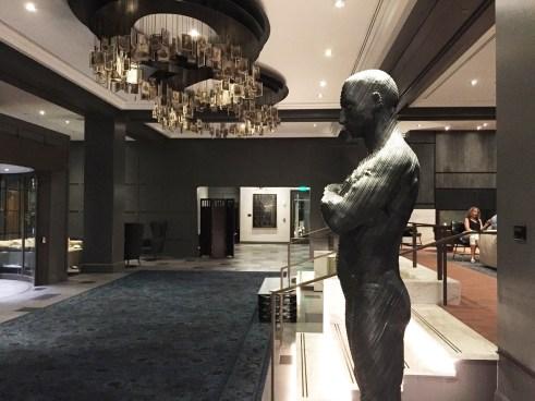 The Logan Hotel Philadelphia Lobby Artwork