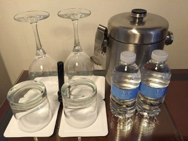 The Logan Hotel free bottled water