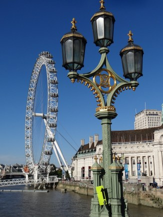 London Eye Westminster Bridge First Trip to Paris & London