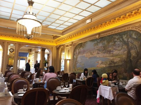 Angelina Paris breakfast dining room