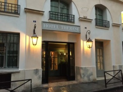 Hotel Therese exterior Paris