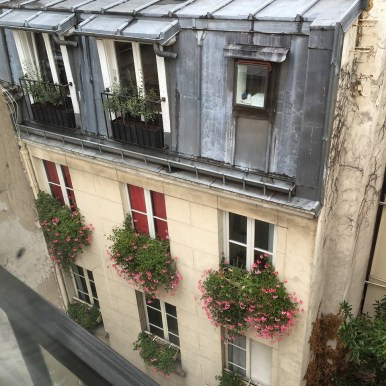Hotel Therese Paris view