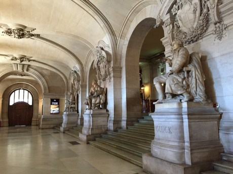 The Grand Foyer at the Paris Opera Tour