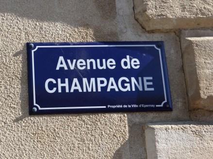 Epernay France Avenue de Champagne