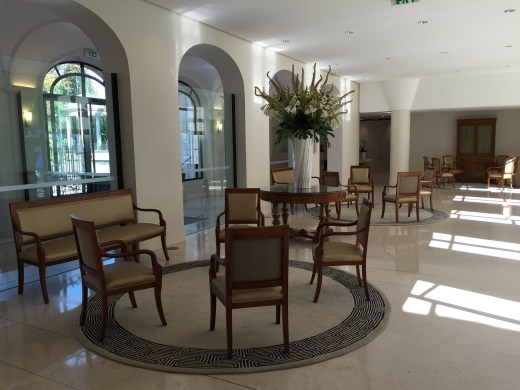 Moet & Chandon Cellar Tour House Lobby