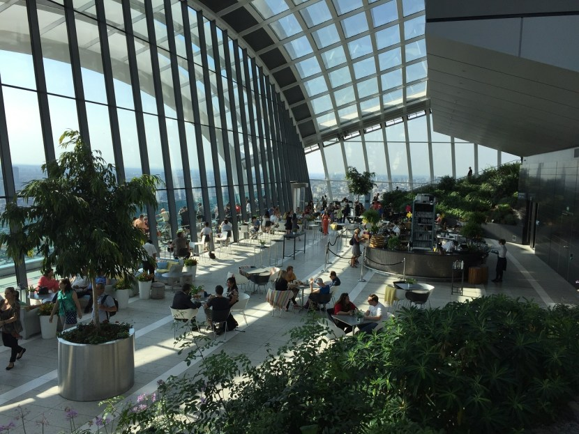 Sky Garden London View inside