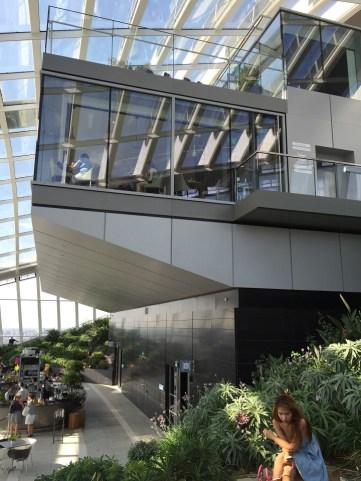 Sky Garden London restaurants