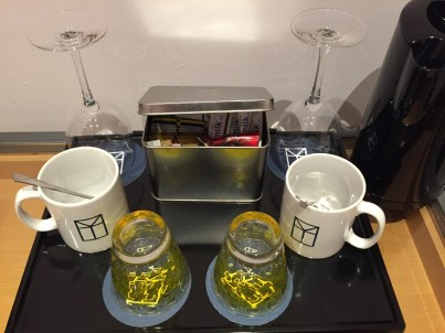 My Bloomsbury Hotel tea coffee in room