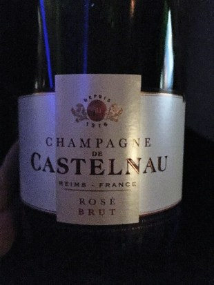British Airways First Class Brut Champagne Rose