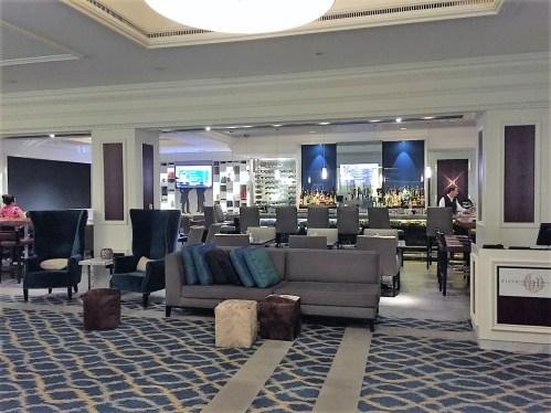 Westin Philadelphia lobby bar