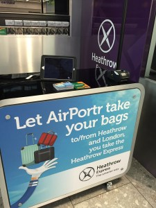 AirPortr London Luggage Delivery from Heathrow