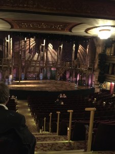 One Ticket to Hamilton Orchestra seat view