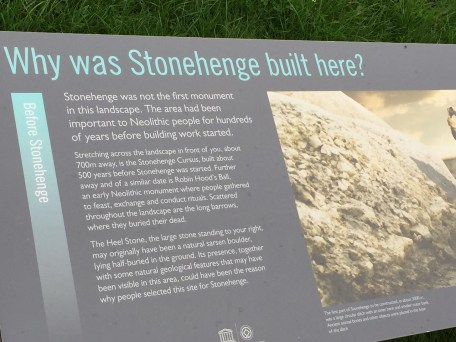 Visit Stonehenge Signs