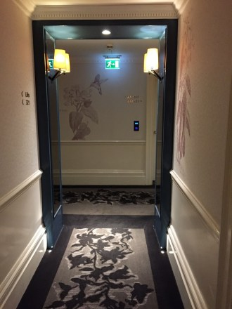 The Ampersand Hotel elevator lobby