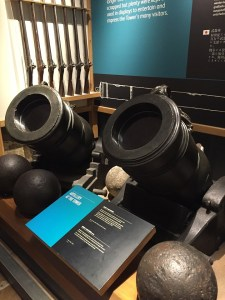 Tower of London Tour Canons