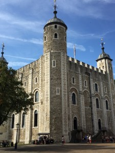 White Tower building Tower of London tour