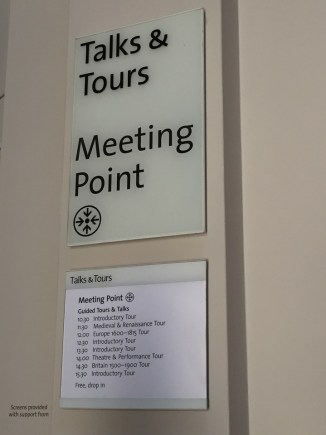 V&A Museum free guided tour