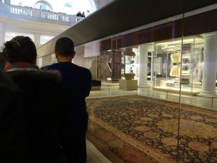 Ardabil Carpet Persian V&A Musuem