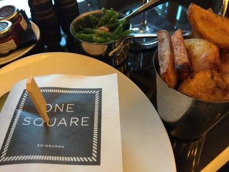 One Square Bar Menu Dinner Edinburgh Sheraton
