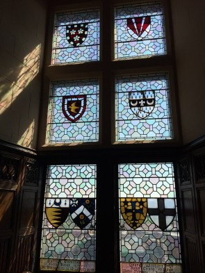 Edinburgh Castle Coat of Arms windows