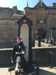Scottish Guard at Edinburgh Castle