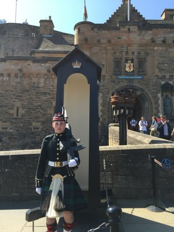 Scottish Guard at Edinburgh Castle