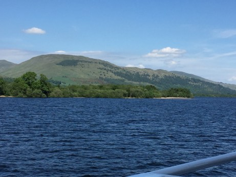 Loch Lomond boat cruise Three Days in Edinburgh