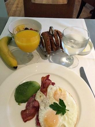 Dorset Square Hotel breakfast Potting Shed